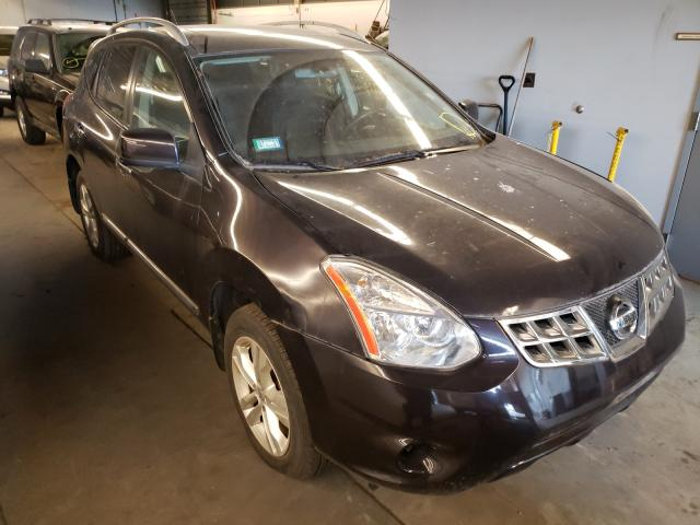 Salvage cars for sale from Copart Wheeling, IL: 2012 Nissan Rogue S
