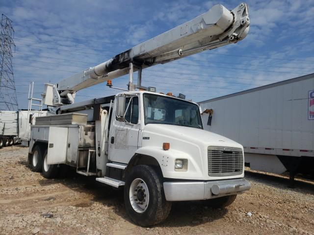 Salvage trucks for sale at China Grove, NC auction: 2000 Freightliner Medium CON
