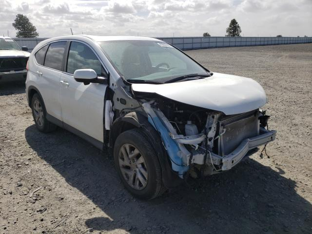 Salvage cars for sale from Copart Airway Heights, WA: 2016 Honda CR-V EX