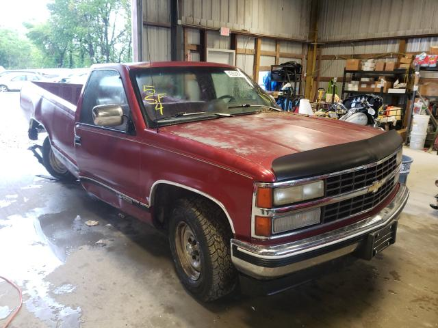 Salvage cars for sale at Rogersville, MO auction: 1991 Chevrolet GMT-400 C1