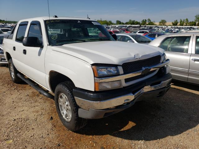 Salvage cars for sale from Copart Bridgeton, MO: 2004 Chevrolet Avalanche