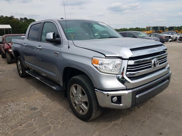 Salvage cars for sale from Copart Austell, GA: 2017 Toyota Tundra CRE