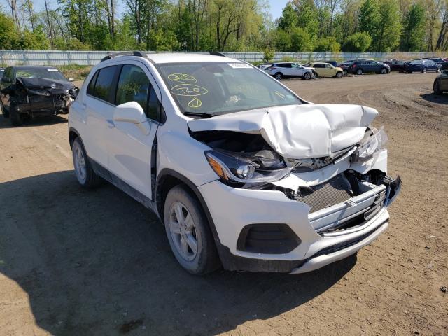 Vehiculos salvage en venta de Copart Davison, MI: 2017 Chevrolet Trax 1LT