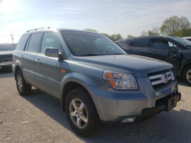Salvage cars for sale from Copart Milwaukee, WI: 2007 Honda Pilot EXL