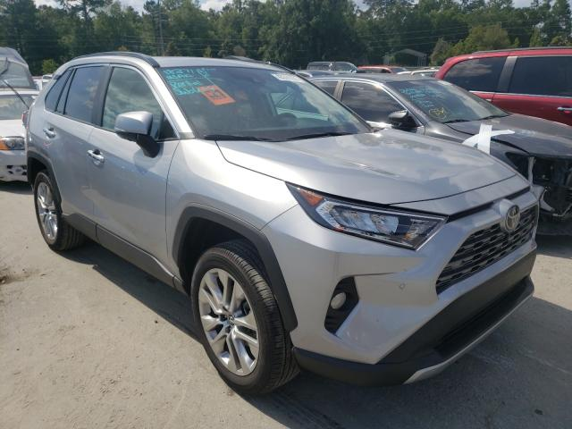 Salvage cars for sale from Copart Savannah, GA: 2020 Toyota Rav4 Limited