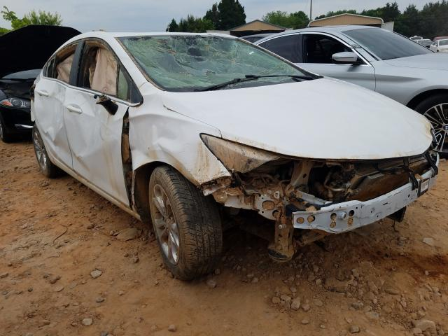 Salvage cars for sale from Copart China Grove, NC: 2019 Chevrolet Cruze LT