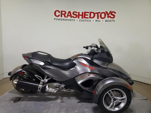 Salvage cars for sale from Copart Dallas, TX: 2011 Can-Am Spyder ROA