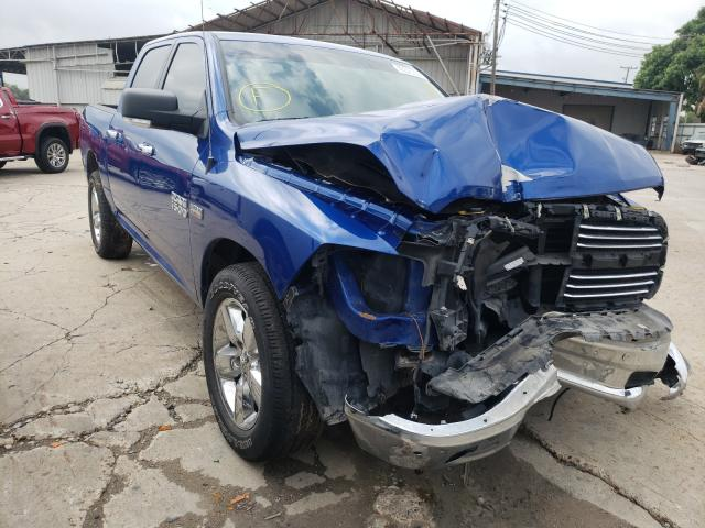 Salvage cars for sale from Copart Corpus Christi, TX: 2018 Dodge RAM 1500 SLT