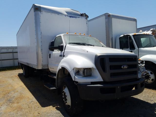 Salvage cars for sale from Copart Sacramento, CA: 2013 Ford F750 Super