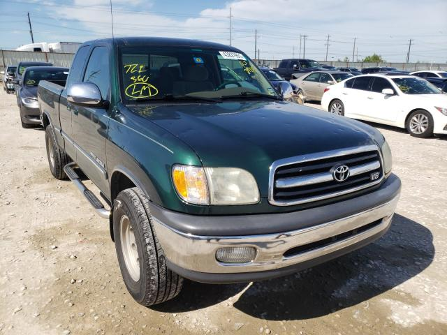 Salvage trucks for sale at Haslet, TX auction: 2002 Toyota Tundra ACC