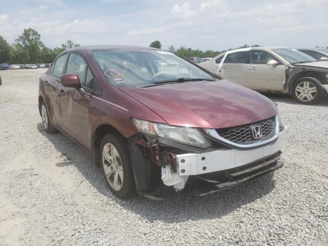 Honda salvage cars for sale: 2013 Honda Civic LX