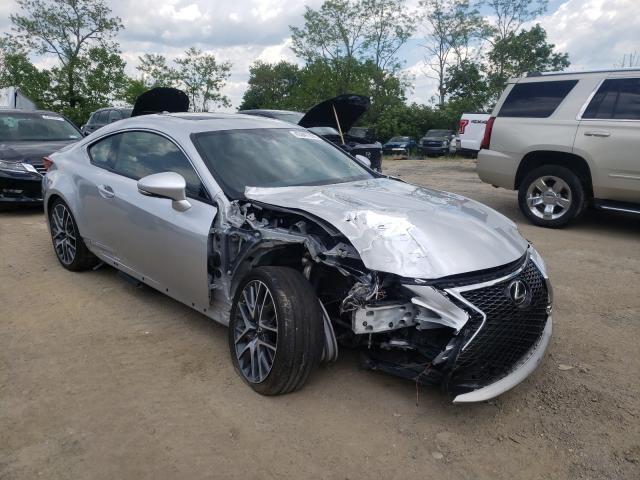 Salvage cars for sale from Copart Marlboro, NY: 2015 Lexus RC 350