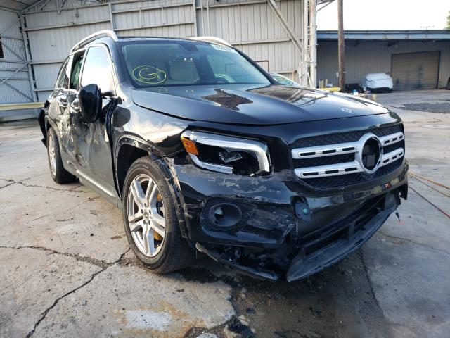 Salvage cars for sale from Copart Corpus Christi, TX: 2020 Mercedes-Benz GLB 250