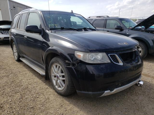 Salvage cars for sale from Copart Nisku, AB: 2006 Saab 9-7X Linea