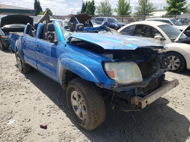 Salvage cars for sale from Copart Eugene, OR: 2006 Toyota Tacoma DOU