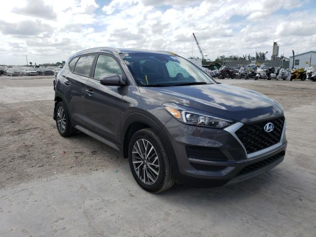 Salvage cars for sale from Copart West Palm Beach, FL: 2020 Hyundai Tucson Limited