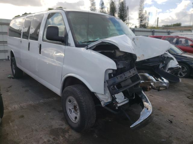 Salvage cars for sale from Copart Miami, FL: 2019 Chevrolet Express G3
