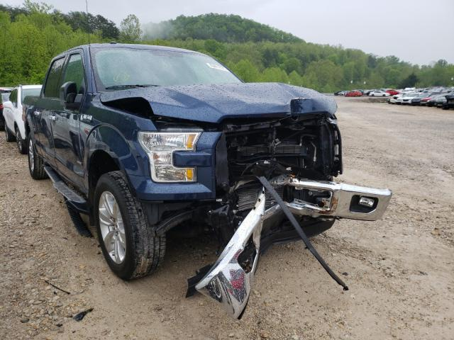 Salvage cars for sale from Copart Hurricane, WV: 2016 Ford F150 Super