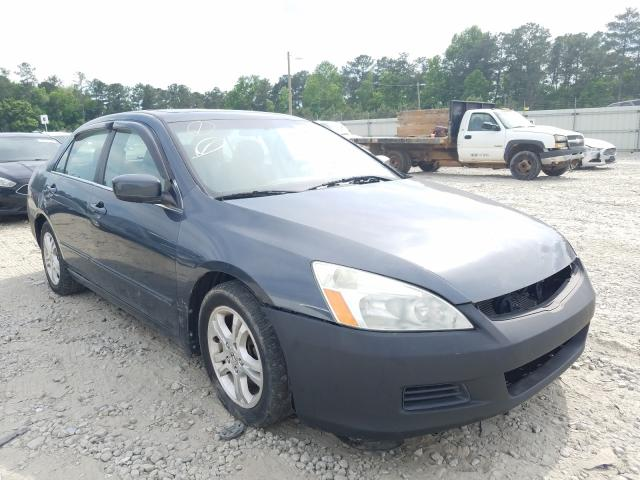 Salvage cars for sale from Copart Ellenwood, GA: 2006 Honda Accord EX
