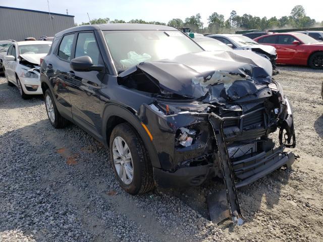 Salvage cars for sale from Copart Spartanburg, SC: 2021 Chevrolet Trailblazer