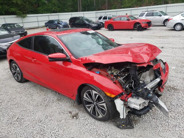 Salvage cars for sale from Copart Knightdale, NC: 2016 Honda Civic EXL