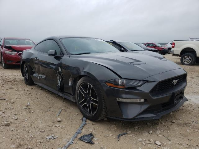Salvage cars for sale from Copart New Braunfels, TX: 2020 Ford Mustang