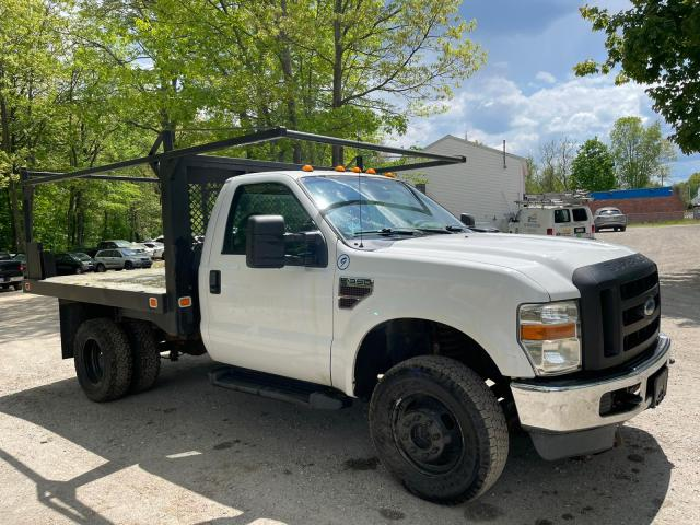 Salvage cars for sale from Copart North Billerica, MA: 2010 Ford F350 Super
