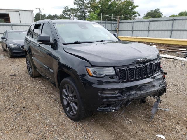 Salvage cars for sale from Copart Florence, MS: 2018 Jeep Grand Cherokee