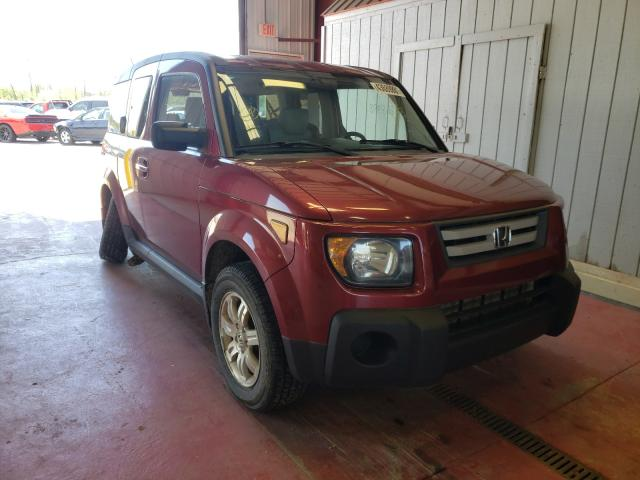 Salvage cars for sale from Copart Angola, NY: 2008 Honda Element EX