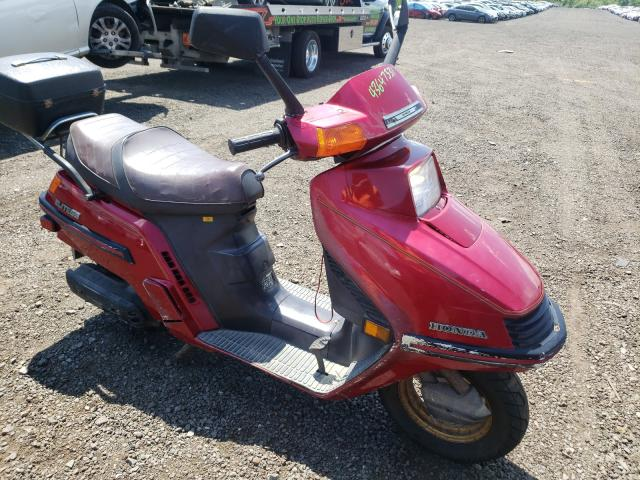 Salvage motorcycles for sale at New Britain, CT auction: 1985 Honda Elite