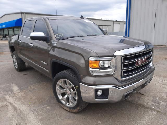 Salvage cars for sale at Conway, AR auction: 2015 GMC Sierra K15