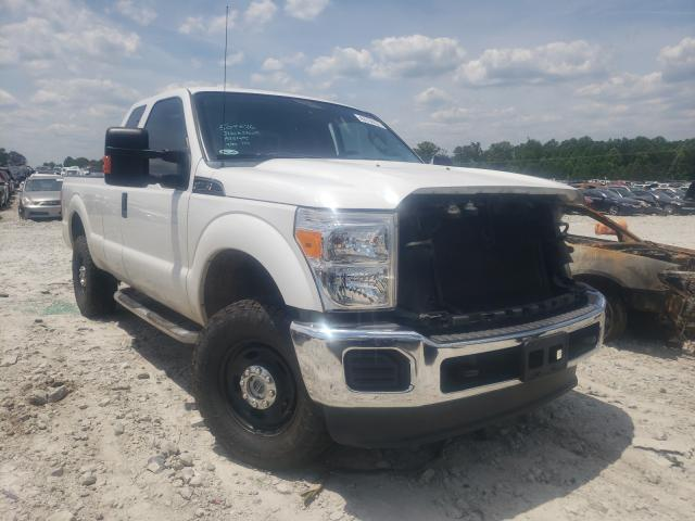 Vehiculos salvage en venta de Copart Loganville, GA: 2016 Ford F250 Super