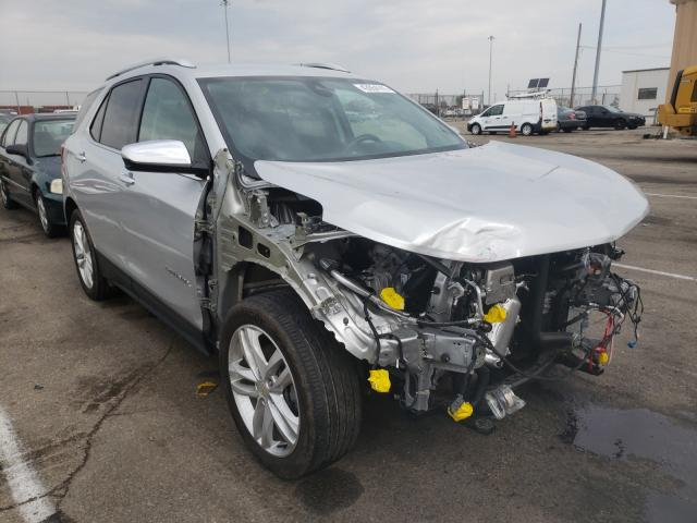 Salvage cars for sale at Moraine, OH auction: 2020 Chevrolet Equinox PR