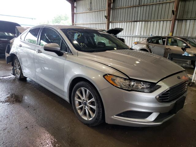 Salvage cars for sale from Copart Greenwell Springs, LA: 2017 Ford Fusion SE