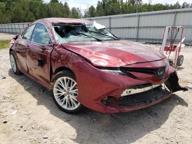 Salvage cars for sale from Copart Charles City, VA: 2018 Toyota Camry L