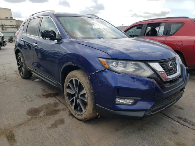 Salvage cars for sale at Tulsa, OK auction: 2018 Nissan Rogue S