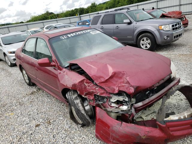 Salvage cars for sale from Copart Prairie Grove, AR: 2001 Honda Accord EX