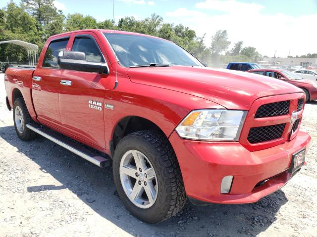 Salvage cars for sale from Copart Tifton, GA: 2014 Dodge RAM 1500 ST