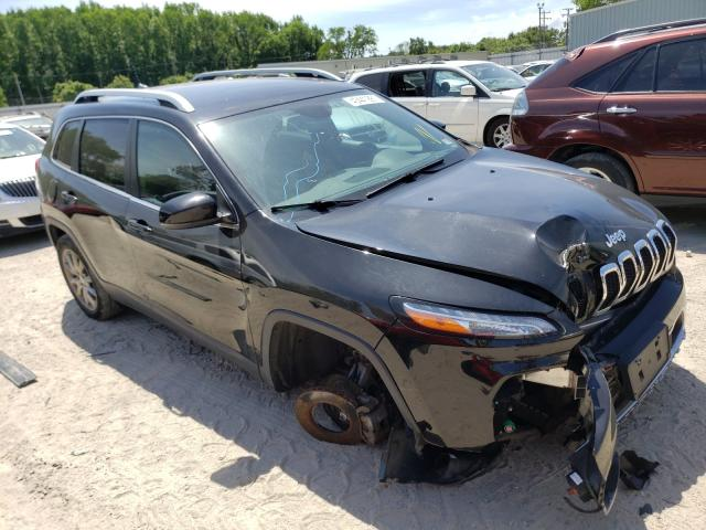 Salvage cars for sale from Copart Hampton, VA: 2018 Jeep Cherokee L