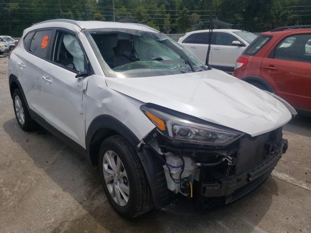 Salvage cars for sale from Copart Savannah, GA: 2019 Hyundai Tucson Limited