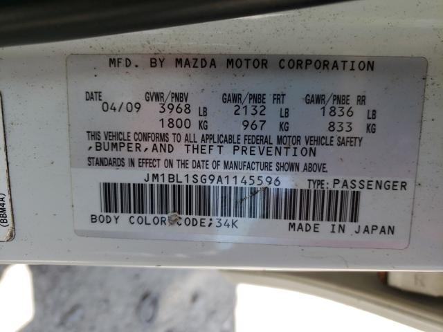 2010 MAZDA 3 I JM1BL1SG9A1145596