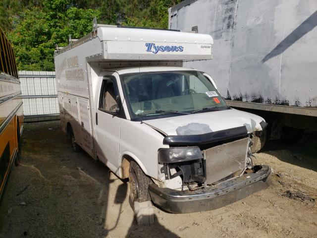 Salvage cars for sale from Copart Sandston, VA: 2005 Chevrolet Express G3