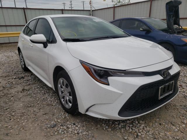Vehiculos salvage en venta de Copart Haslet, TX: 2021 Toyota Corolla LE