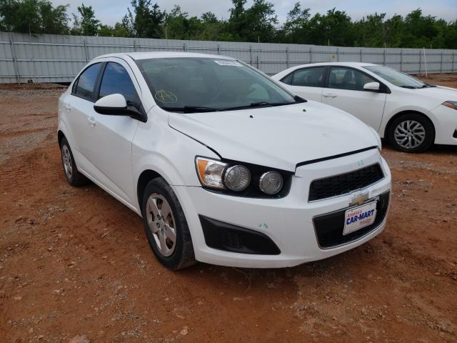 Vehiculos salvage en venta de Copart Oklahoma City, OK: 2015 Chevrolet Sonic LS