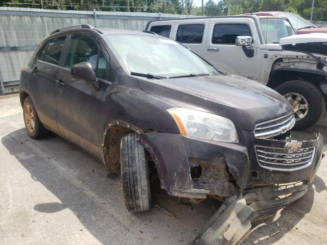 Chevrolet salvage cars for sale: 2016 Chevrolet Trax 1LT