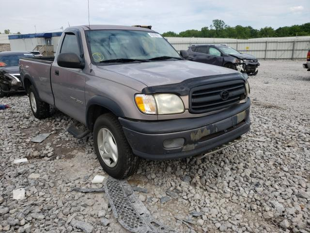 Salvage cars for sale from Copart Hueytown, AL: 2002 Toyota Tundra