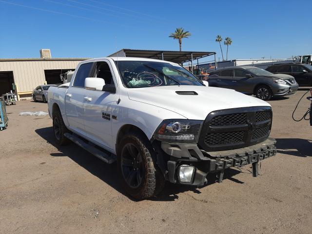 Salvage cars for sale from Copart Phoenix, AZ: 2017 Dodge RAM 1500 Sport