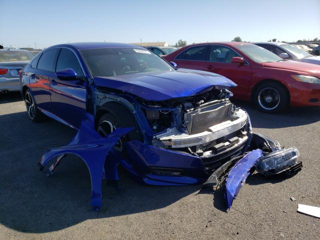 Salvage cars for sale from Copart Sacramento, CA: 2020 Honda Accord Sport