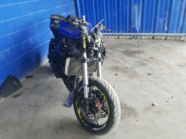 Salvage cars for sale from Copart Cartersville, GA: 2014 Kawasaki ZX1000 M