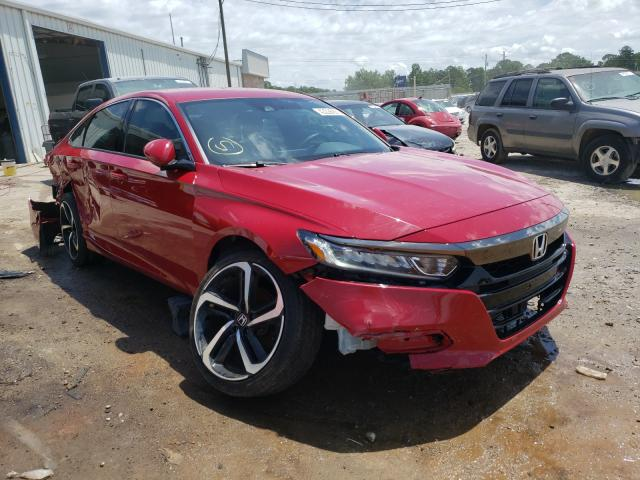 Salvage cars for sale from Copart Montgomery, AL: 2019 Honda Accord Sport
